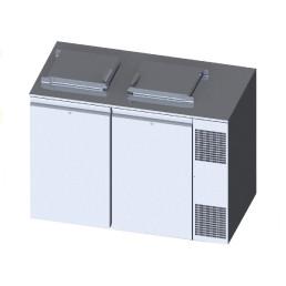 Konfiskatkühler für 2 x 120 oder 240 l Abfallbehälter mit Winterheizung
