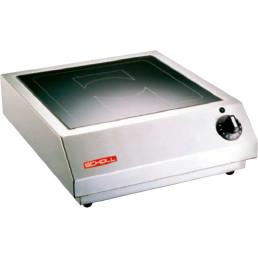 Induktions-Tischgerät 1 Heizzone / 5,00 kW / Feld 320 x 320 mm / Auftischgerät